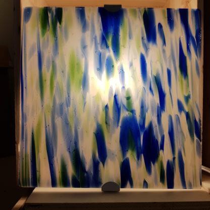 Applique murale en verre fusionné