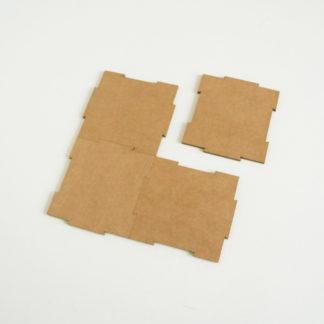 Petits carrés - kraft